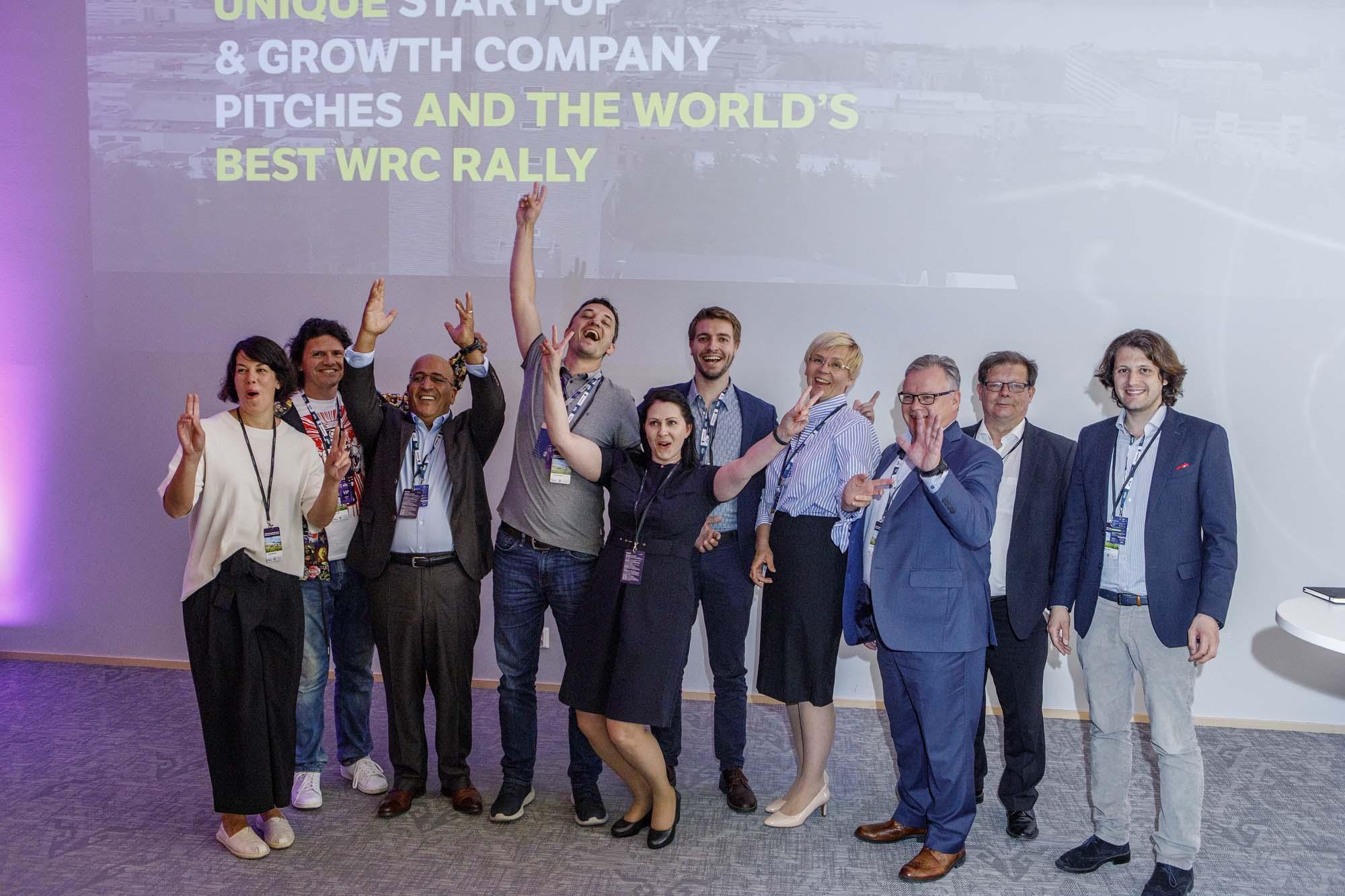 Business Rally Shakedown