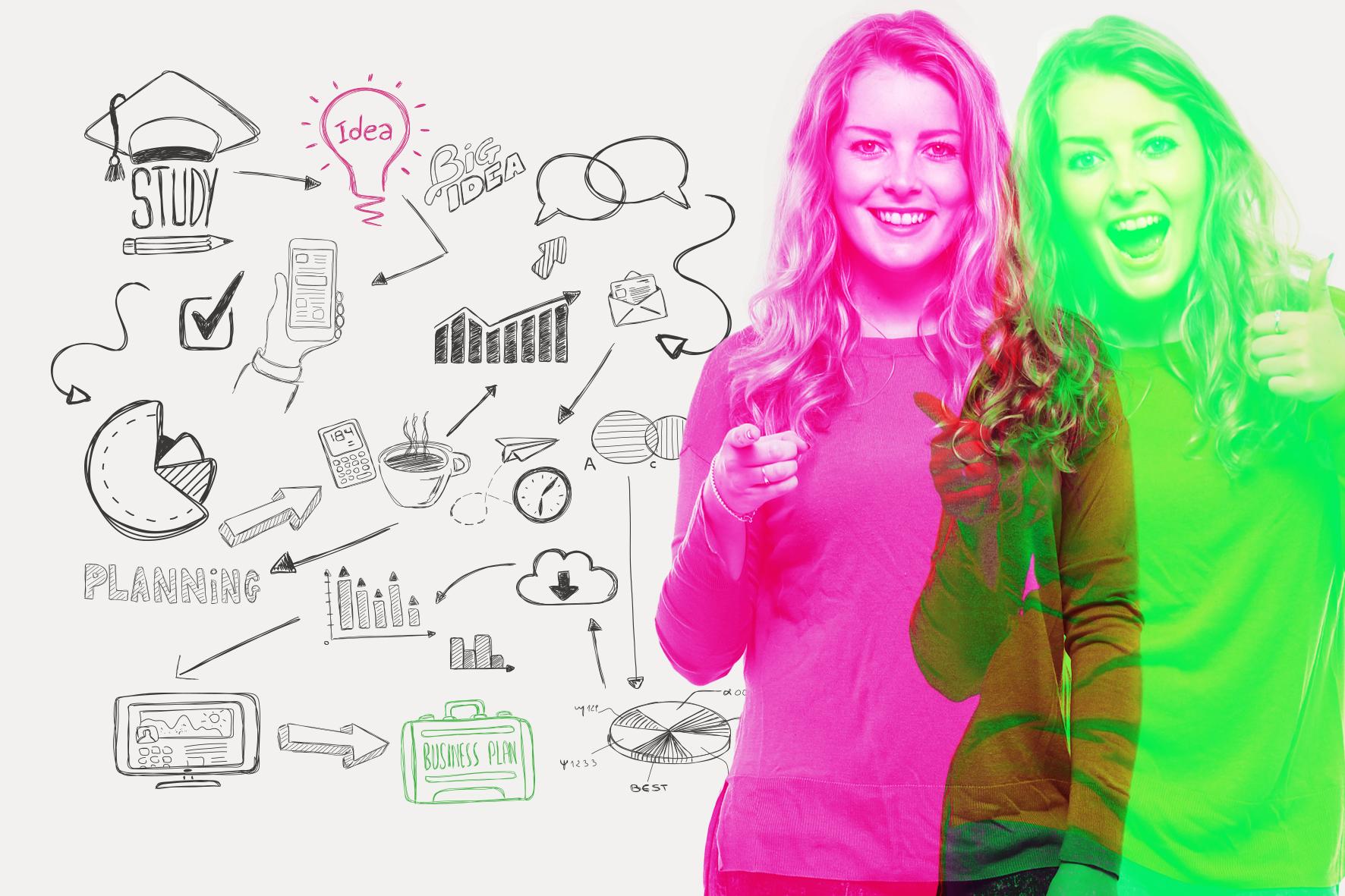 Ideasta yritykseksi -valmennus  (10 vkoa)